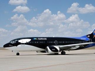 El avión orca