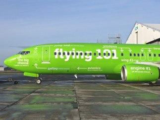 Adiós a las dudas sobre las partes de un avión