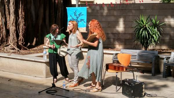 Actuación de música dentro del programa 'Música per la vida'