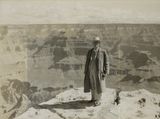 Audley D. Stewart (American, 1882–1972). George Eastman at the Grand Canyon, July 12, 1930
