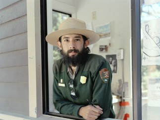Michael Matthew Woodlee (American, b. 1984). Chris, Campground Ranger, Tuolumne Meadows Campground, 2014. From the series Yos-E-Mite