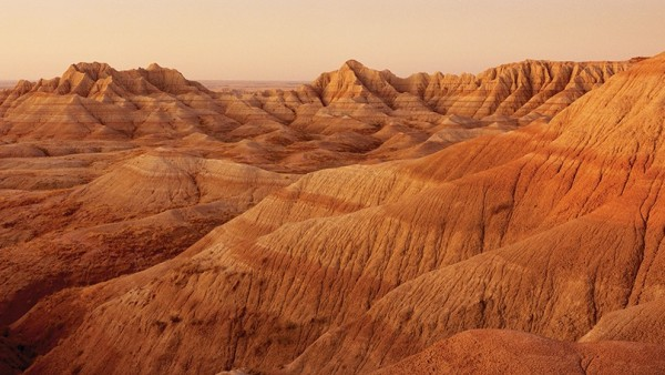 Stan Jorstad - Badlands National Park, 1992