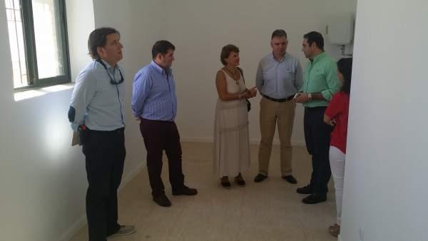 Mejoras en el centro de salud de Jabugo (Huelva).