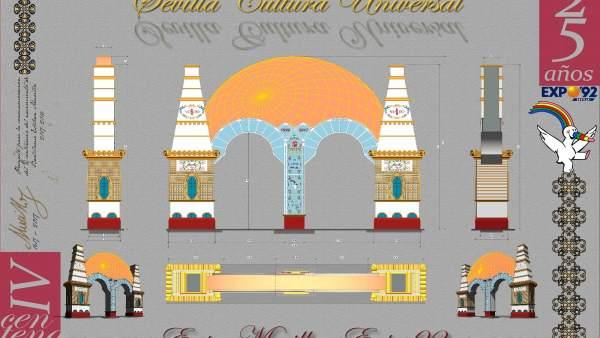 Diseño de la portada de la Feria de 2017.