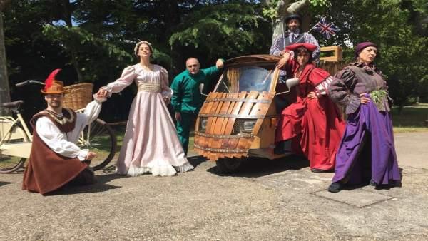Ruta dramatizada sobre Cervantes y Shakespeare