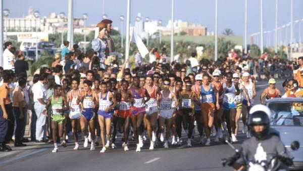Maratón de los Juegos Olímpicos de Barcelona en 1992
