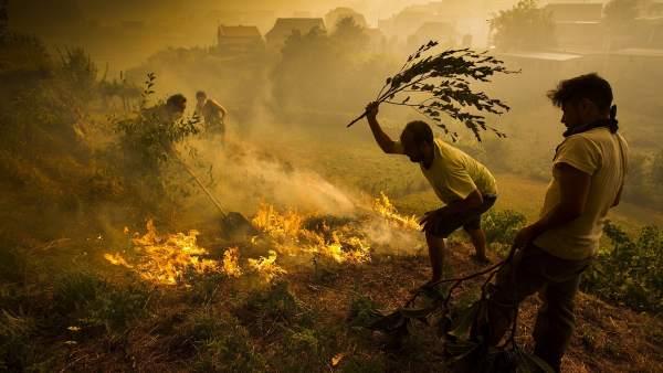 Incendio en Soutomaior