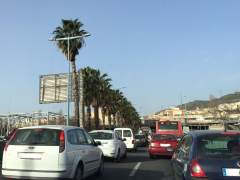 El 18% de los vehículos que entran a Barcelona sufren congestión