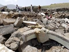 Al menos 37 personas mueren en un bombardeo árabe en Saná, capital yemení