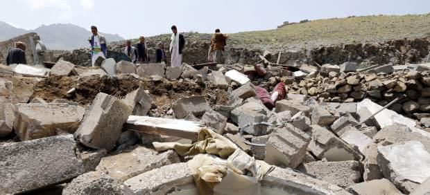 Nuevo bombardeos en Saná, capital de Yemen