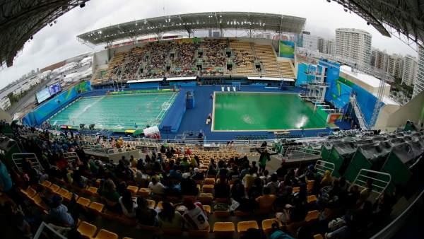Piscina 'verde' en Río