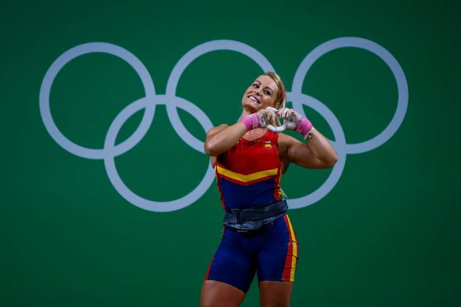 Lidia Valentín bronce en halterofilia Juegos Olímpicos Río 2016