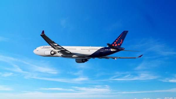 Avión de Brussels Airlines