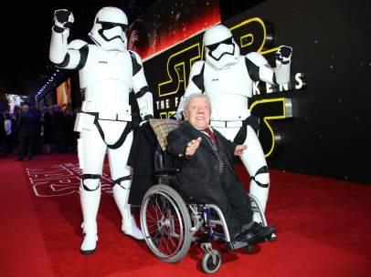 Kenny Baker, intérprete del mítico R2-D2