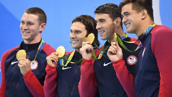 La última medalla de Phelps