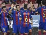 Gol de Luis Suárez para el Barça