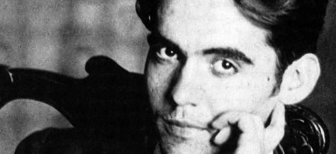 Federico García Lorca, en una foto