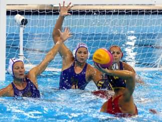 Beatriz Ortiz Muñoz, de la selección española de waterpolo