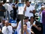 Oración por el imán Maulama Akonjee, de 55 años, y a su ayudante Thara Uddin, de 64, ambos asesinados en Nueva York.