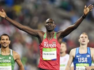 David Rudisha, el rey de los 800 metros