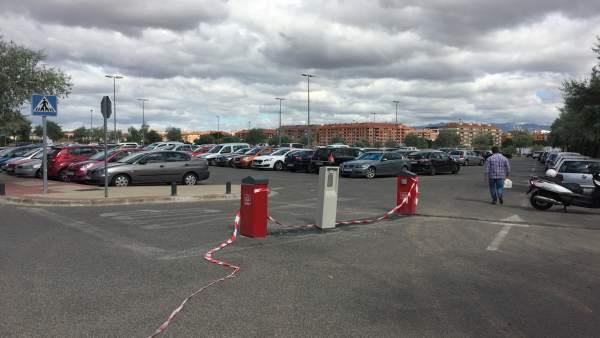Imagen del aparcamiento