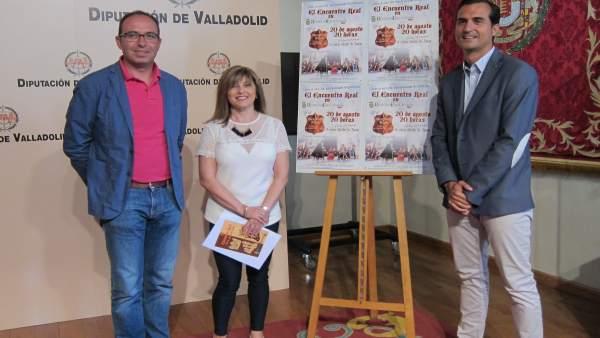 David Alonso,  Antonia Babón y Luis Fernández presentan el 'Encuentro Real'