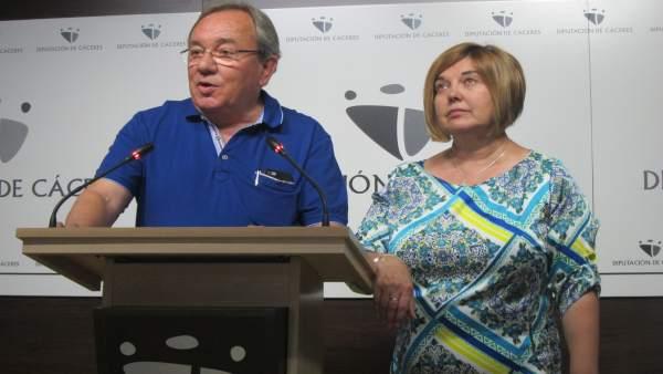Manuel Rodríguez Tabares y Rosario Cordero