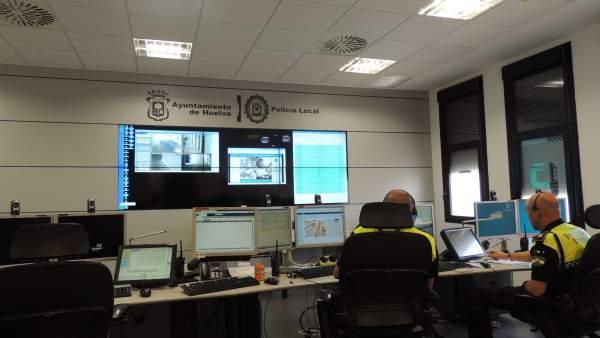 Dependencias de la Policía Local de Huelva