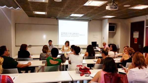 Zamora se reúne con profesionales de las Unidades de Activación