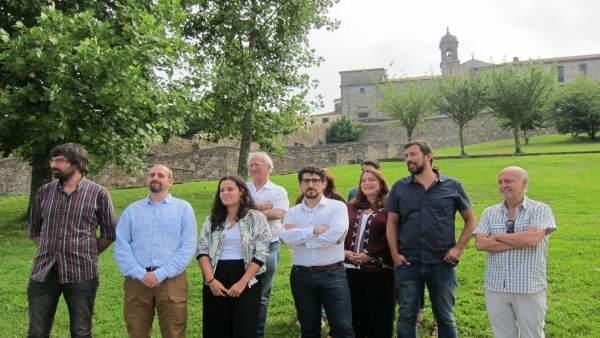 En Confluencia Podemos presenta su candidatura para las primarias de En Marea