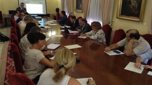 Comisión de flujos migratorios en Huelva