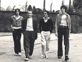 Photograph of Buzzcocks, 1976