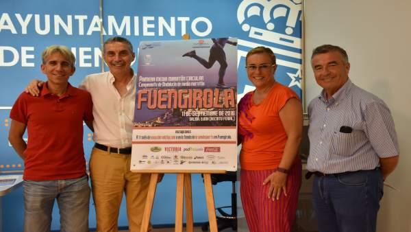 Presentación en Fuengirola de la Media Maratón Circular