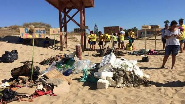 Recogida de basura de Ayamonte#Love2sea