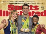 Ledecky, Phelps y Biles en Sports Illustrated