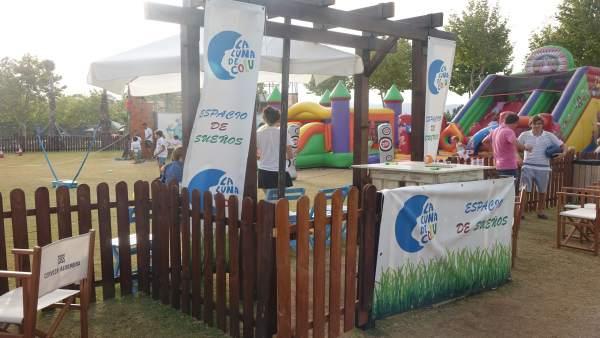 Zona infantil en Santa María Polo Club