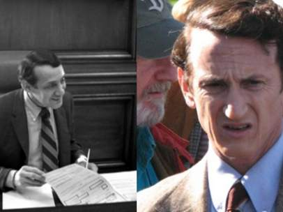 Harvey Milk, el activista gay que interpretó Sean Penn.