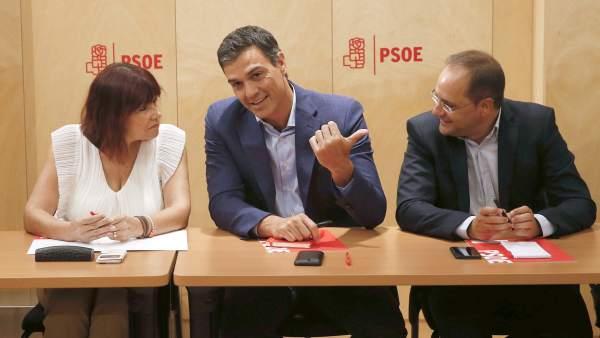 Comisión permanente de la Ejecutiva del PSOE