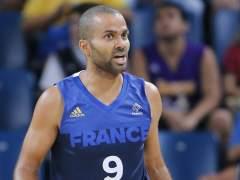 Tony Parker con Francia