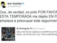 Tuit de Iker Casillas