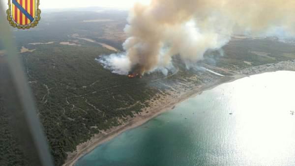 Incendio Sa Canova