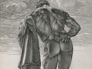 Hendrick Goltzius - Herkules Farnese, 1592