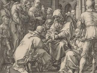 Hendrick Goltzius (1558–1617) - Die Beschneidung, 1594