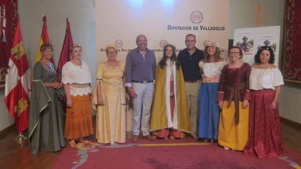 Presentación de la recreación del encierro de la reina Juana en Alaejos