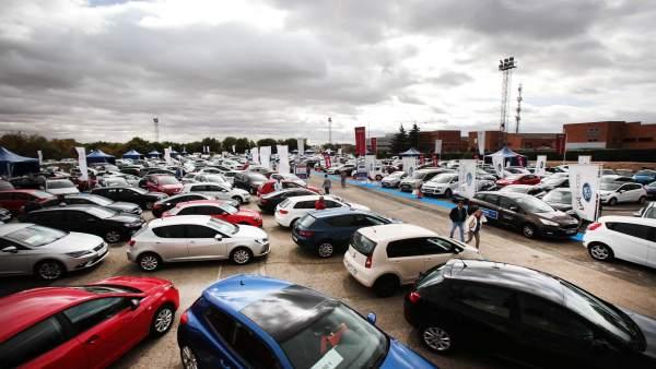 Parque de coches