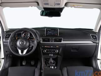 Interior del Mazda 3