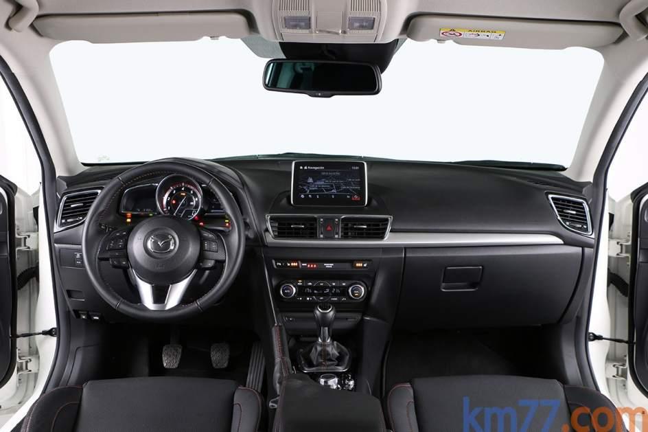 Aspecto interior del Mazda 3