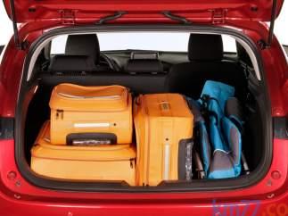 Maletero del Mazda 3 cinco puertas