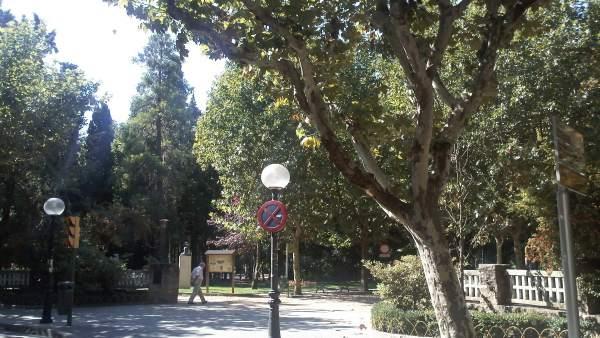 Parque Miguel Servet De Huesca