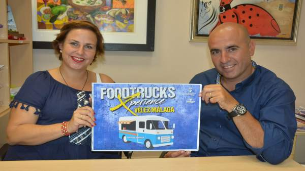 Presentación en Vélez-Málaga de FoodTruck